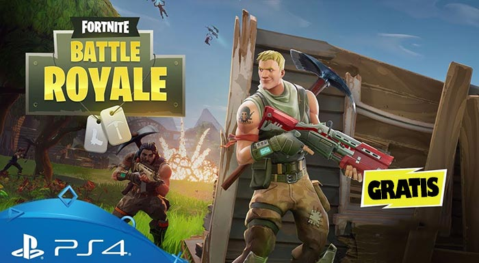 descargar fornite battle royale ps4 gratis