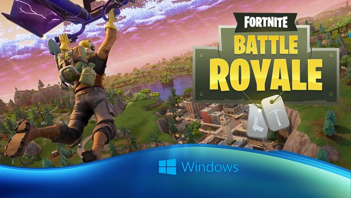 fortnite battle royale para pc windows