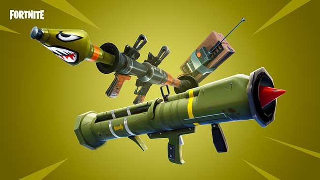 Fortnite armas lanzacohetes