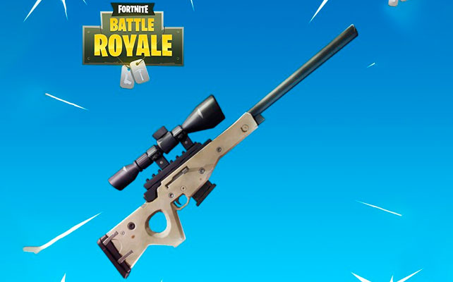 Fortnite rifle francotirador