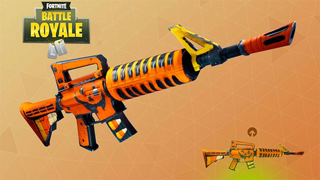 rifles asalto fortnite battle